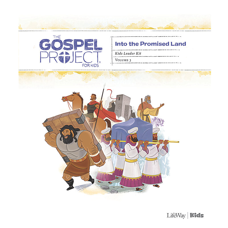 The Gospel Project for Kids: Kids Leader Kit - Volume 3: Into the Promised Land