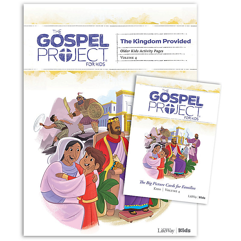 The Gospel Project for Kids: Older Kids Activity Pack - Volume 4: A Kingdom Provided