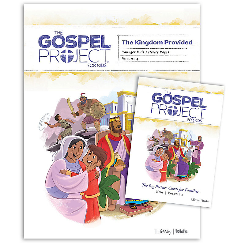 The Gospel Project for Kids: Younger Kids Activity Packs -Volume 4: A Kingdom Provided