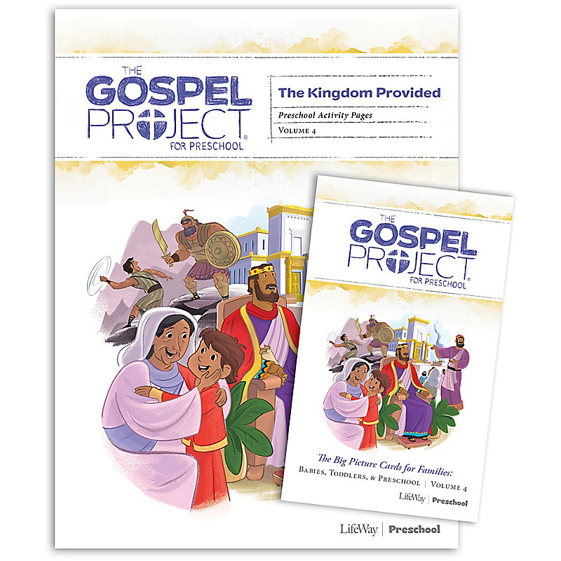 The Gospel Project for Preschool: Preschool Activity Pack - Volume 4: A Kingdom Provided