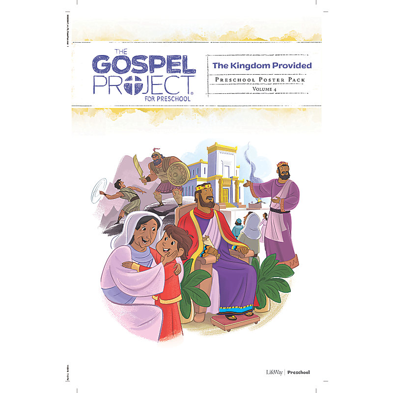 The Gospel Project for Preschool: Preschool Poster Pack - Volume 4: A Kingdom Provided