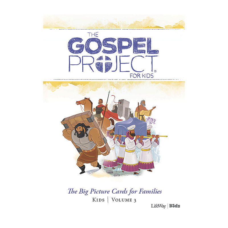 The Gospel Project for Kids: Kids Big Picture Cards for Families - Volume 3: Into the Promised Land