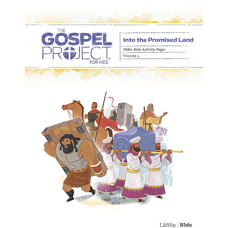 The Gospel Project for Kids: Older Kids Activity Pages - Volume 3: Into the Promised Land