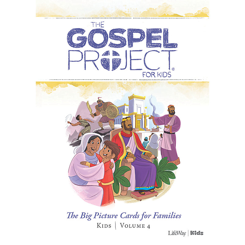 The Gospel Project for Kids: Kids Big Picture Cards for Families - Volume 4: A Kingdom Provided