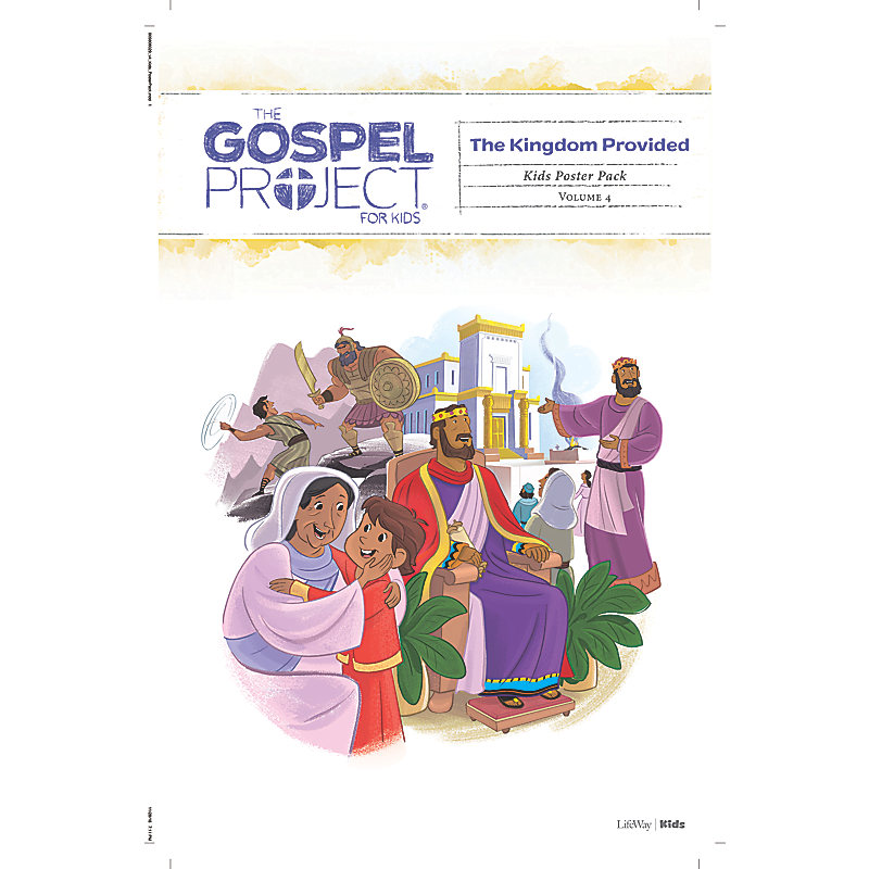 The Gospel Project for Kids: Kids Poster Pack - Volume 4: A Kingdom Provided