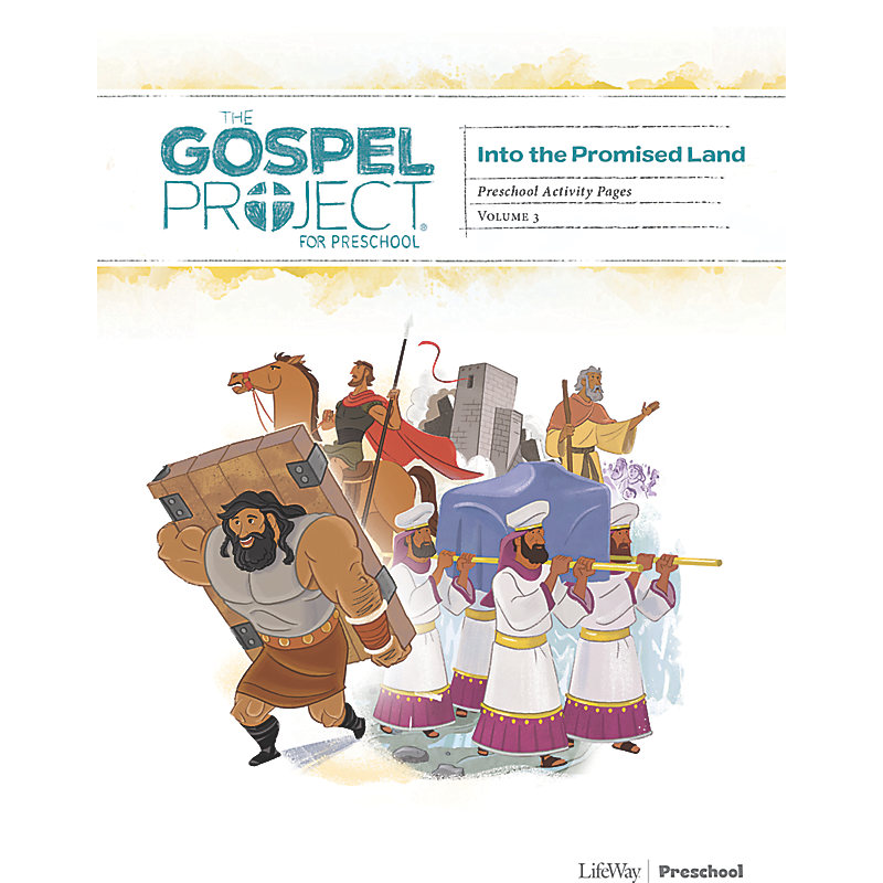 The Gospel Project for Preschool: Preschool Activity Pages - Volume 3: Into the Promised Land