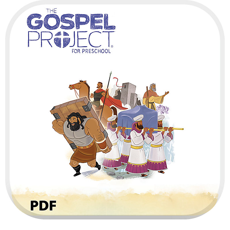 The Gospel Project for Preschool: Babies and Toddlers Leader Guide PDF - Volume 3: Into the Promised Land