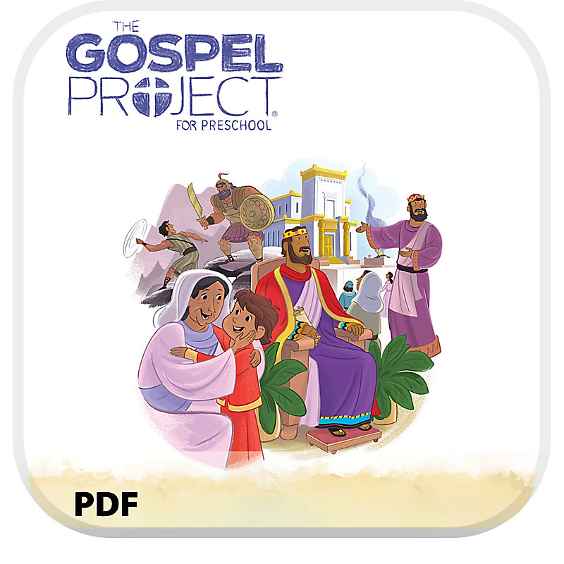 The Gospel Project for Preschool: Babies and Toddlers Leader Guide PDF - Volume 4: A Kingdom Provided