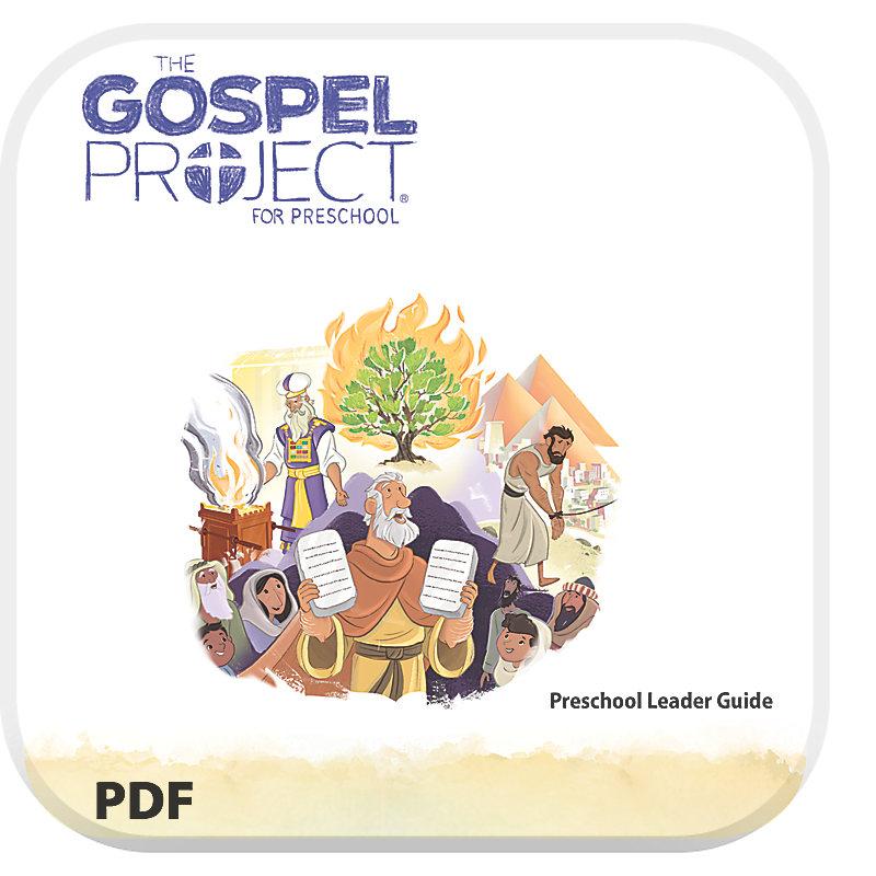 The Gospel Project for Preschool: Preschool Leader Guide PDF - Volume 2: Out of Egypt