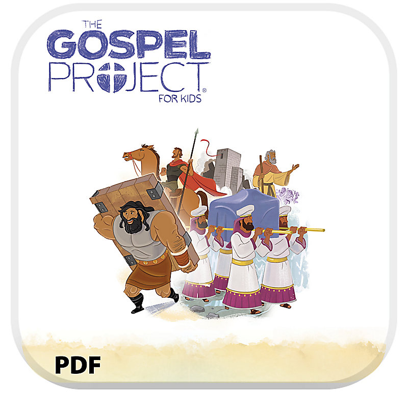 The Gospel Project for Kids: Younger Kids Leader Guide PDF - Volume 3: Into the Promised Land