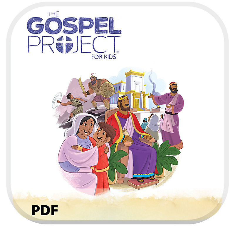 The Gospel Project for Kids: Younger Kids Leader Guide PDF -Volume 4: A Kingdom Provided