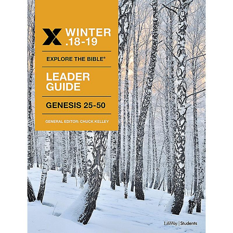 Explore The Bible: Student Leader KJV Winter 2019 e-book