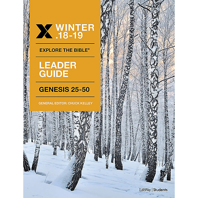 Explore The Bible: Student Leader NIV Winter 2019 e-book