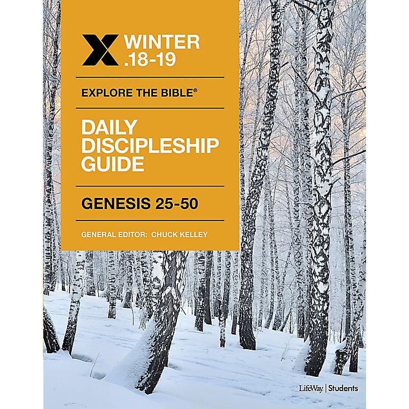 Explore The Bible: Student Daily Discipleship Guide KJV Winter 2019 e-book