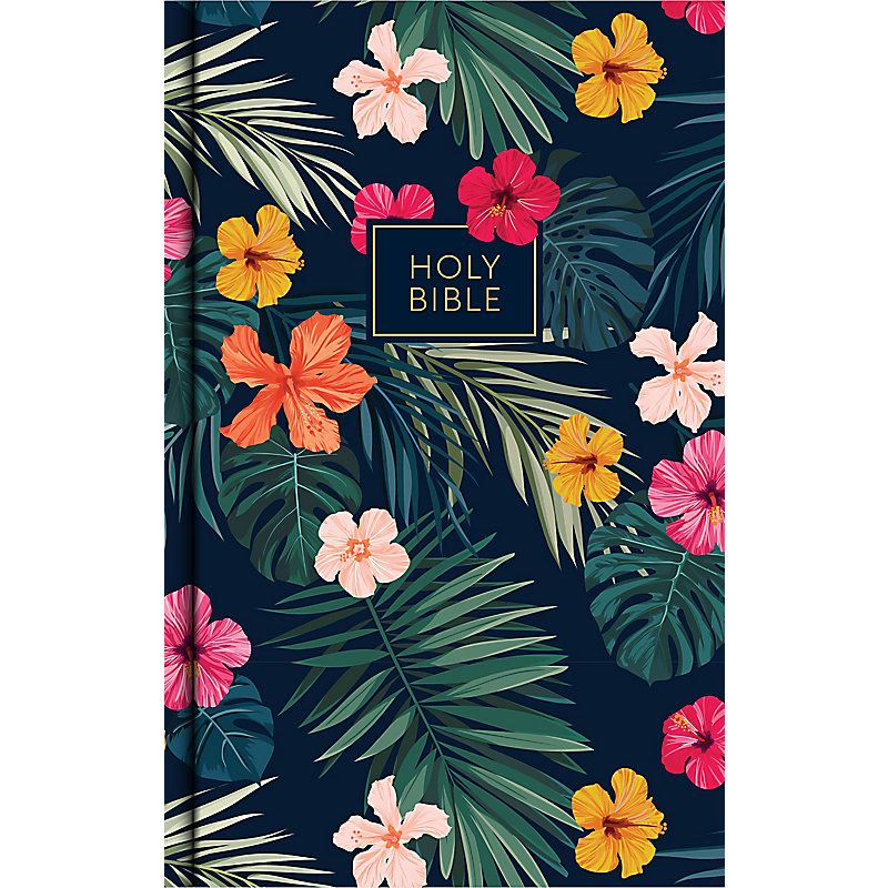 CSB Single-Column Personal Size Bible, Tropical Cloth Over Board