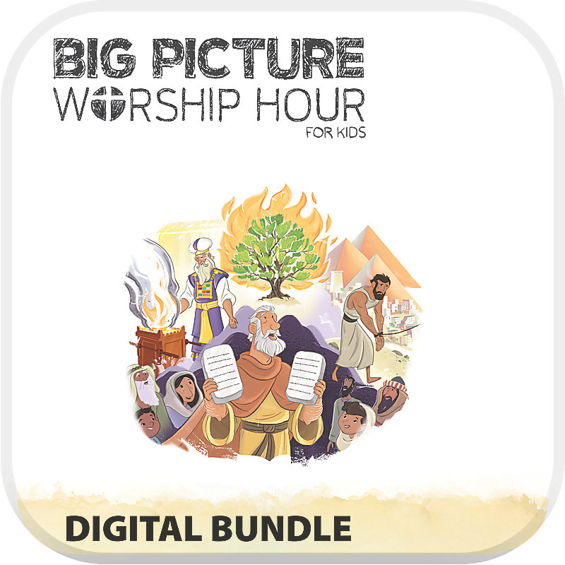 The Big Picture Worship Hour for Kids - Volume 2: Out of Egypt
