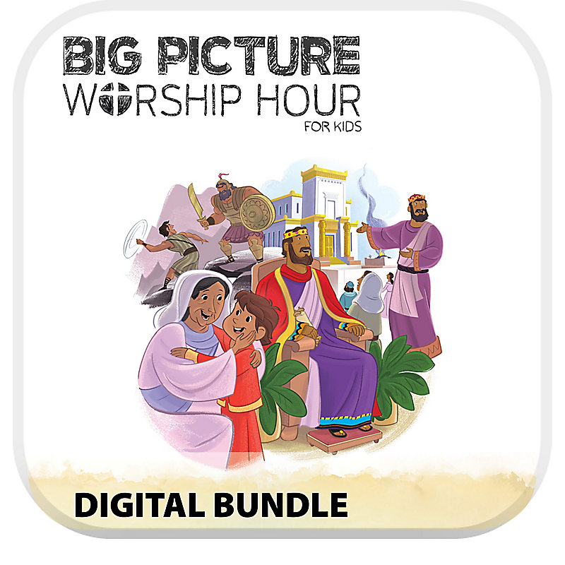 The Big Picture Worship Hour for Kids - Volume 4: A Kingdom Provided