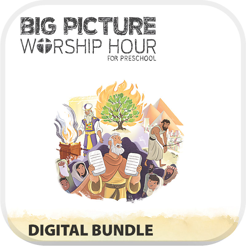 The Big Picture Worship Hour for Preschool - Volume 2: Out of Egypt