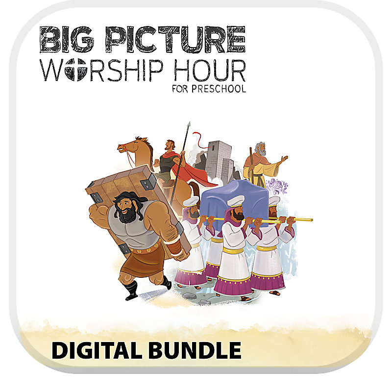 The Big Picture Worship Hour for Preschool - Volume 3: Into the Promised Land