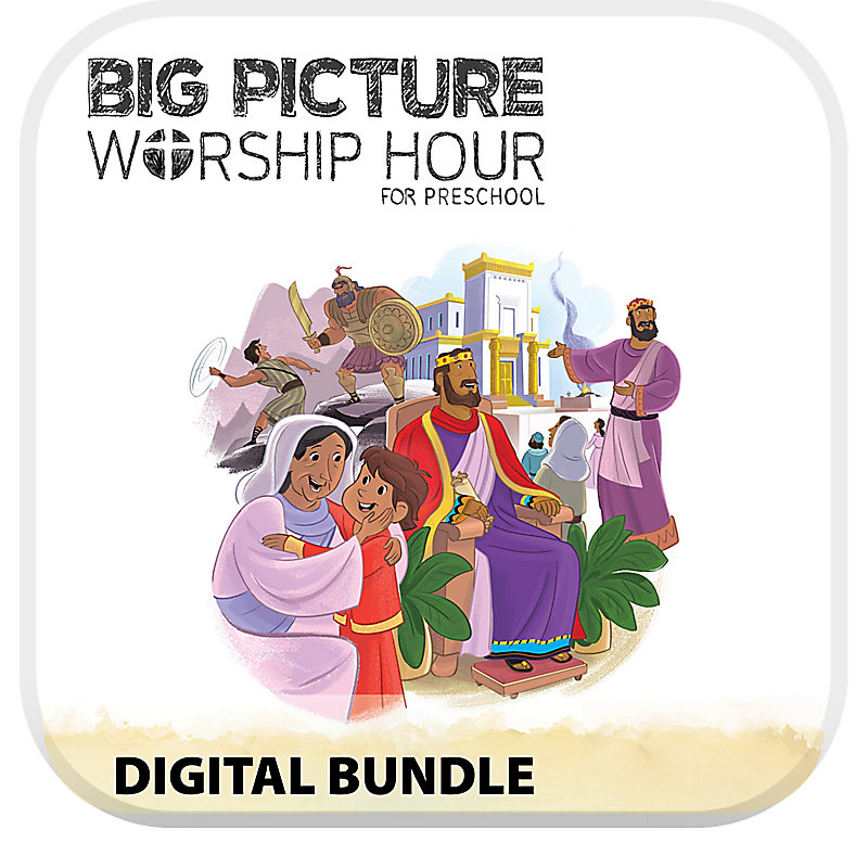 The Big Picture Worship Hour for Preschool - Volume 4: A Kingdom Provided