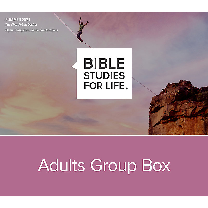 Bible Studies for Life: Adults Group Box CSB - Summer 2021