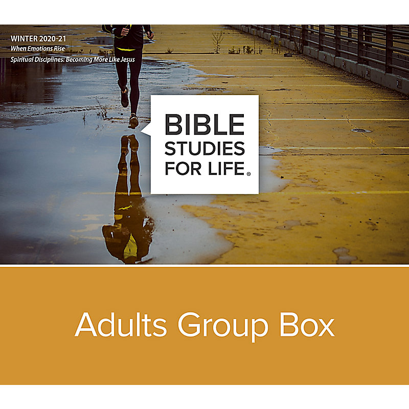 Bible Studies for Life: Adults Group Box CSB - Winter 2021