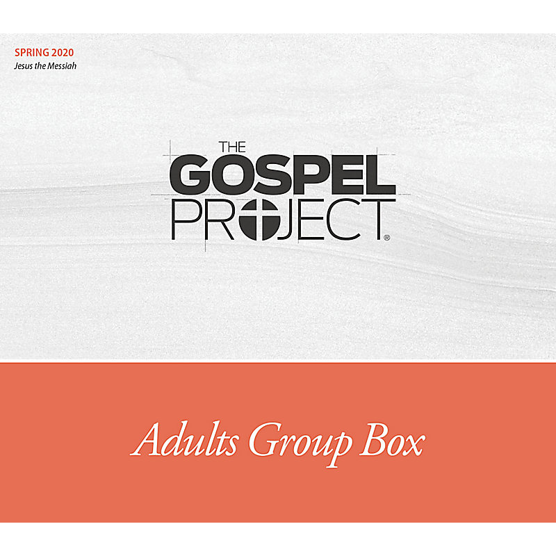 The Gospel Project for Adults: Adults Group Box CSB - Spring 2020