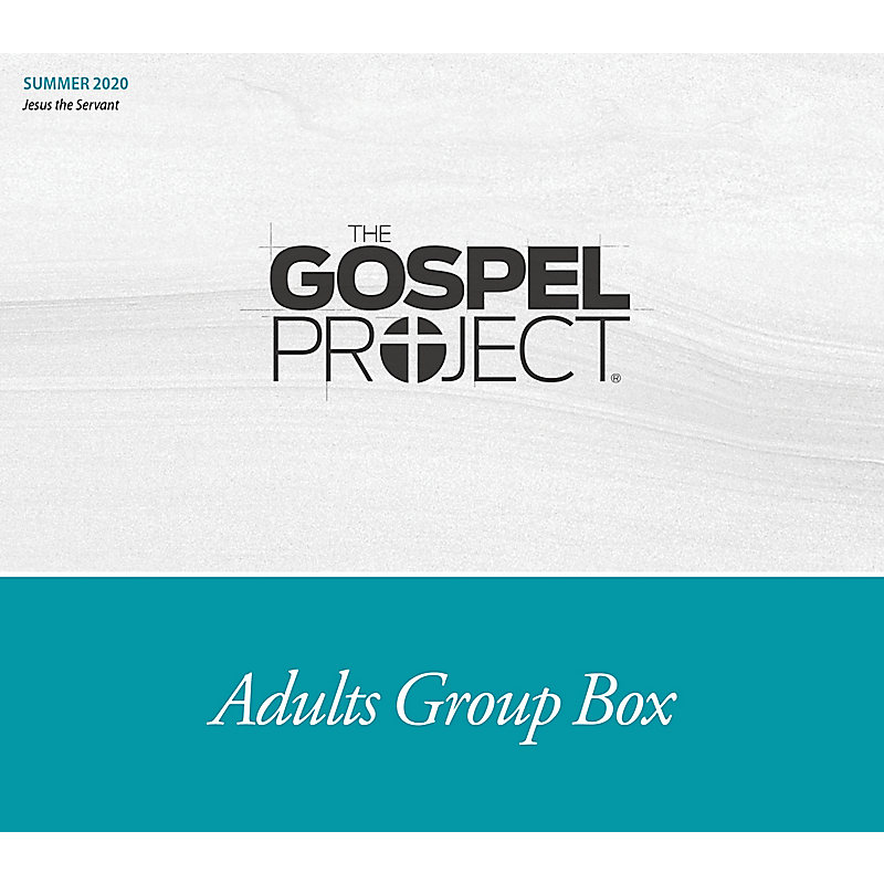 The Gospel Project for Adults: Adult Group Box CSB - Summer 2020
