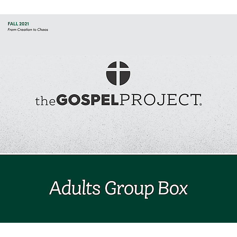 The Gospel Project for Adults: Adult Group Box CSB - Fall 2021