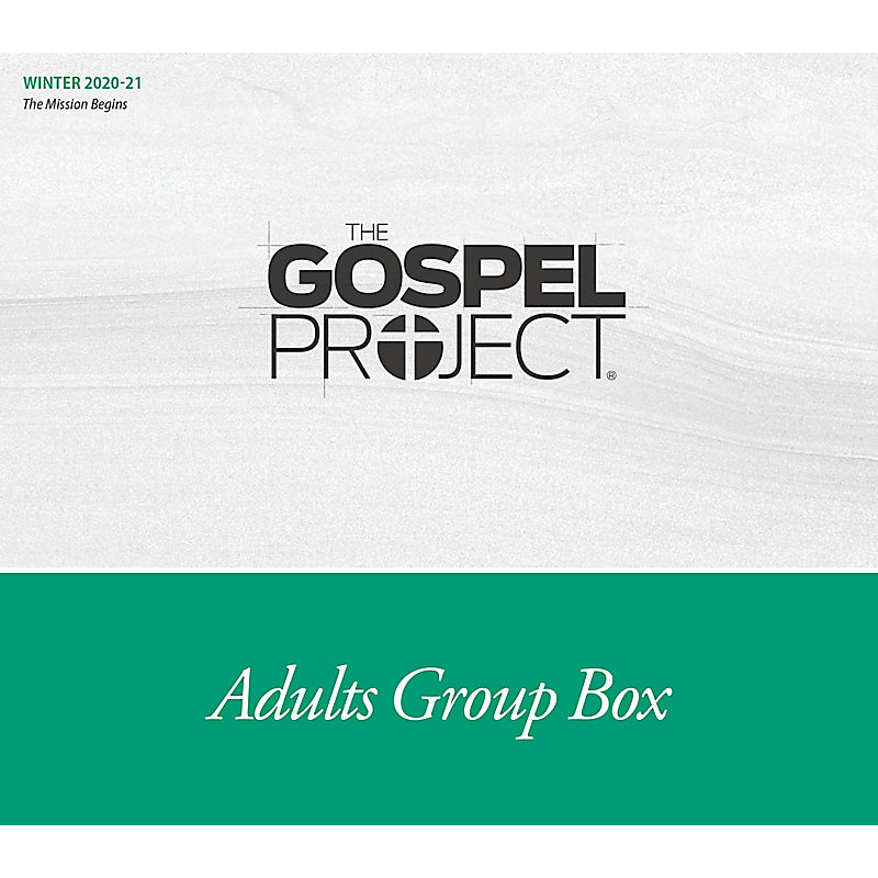 The Gospel Project for Adults: Adult Group Box CSB - Winter 2021