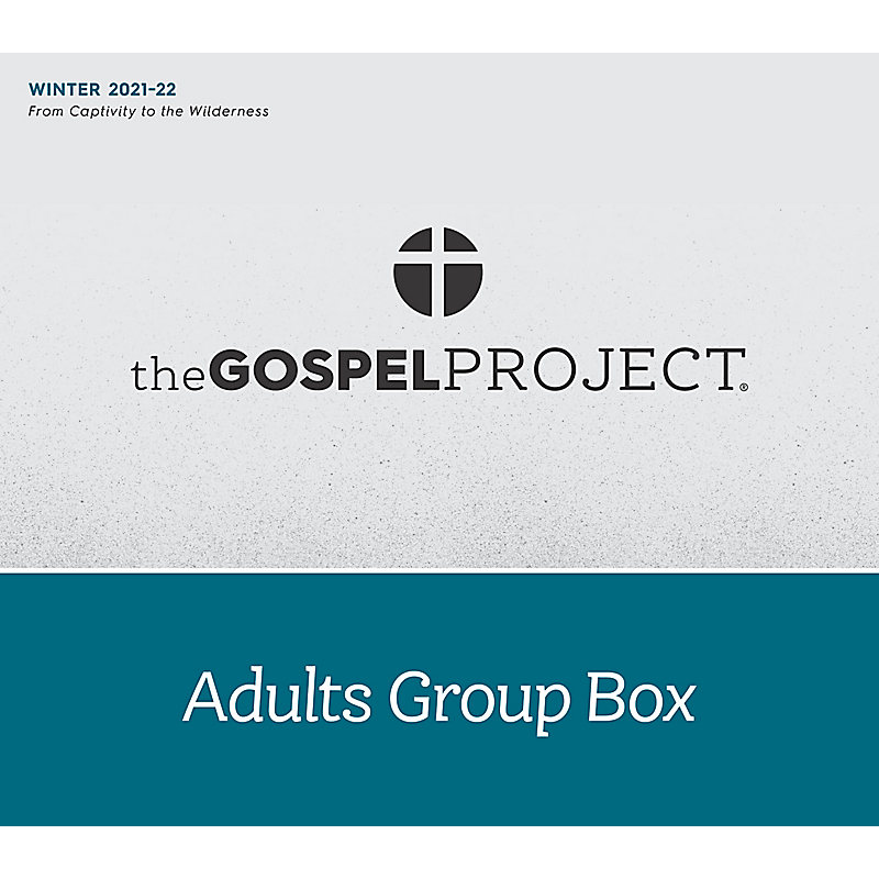 The Gospel Project for Adults: Adult Group Box CSB - Winter 2022