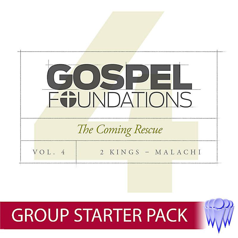 Gospel Foundations - Volume 4 - Single Group Starter Pack