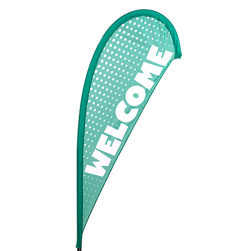VBS Welcome Flying Banner (flag only)