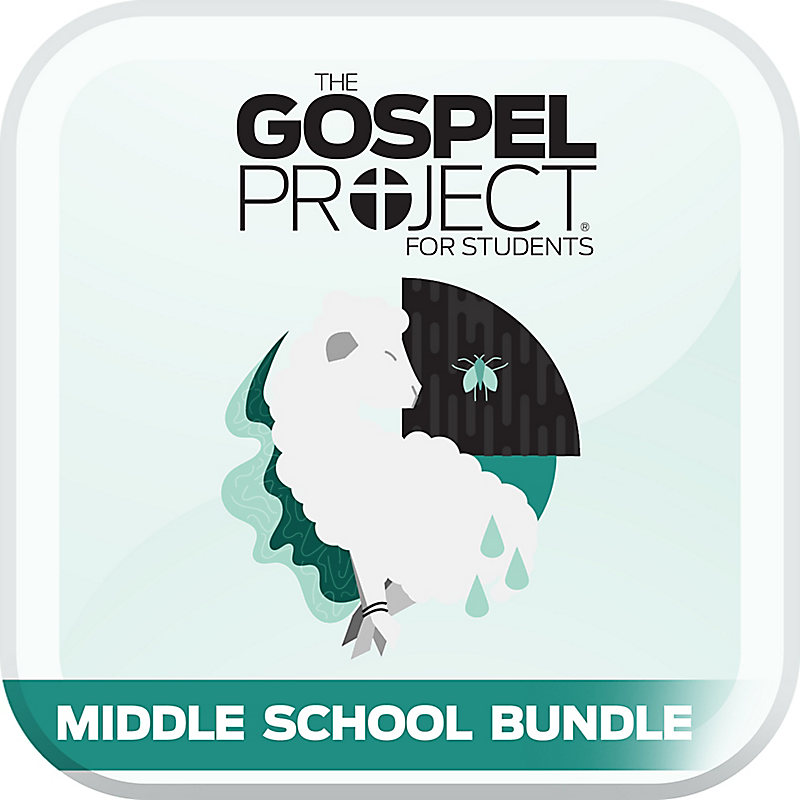 MCM-The Gospel Project for Students: Volume 2: Out of Egypt Middle School Digital Bundle