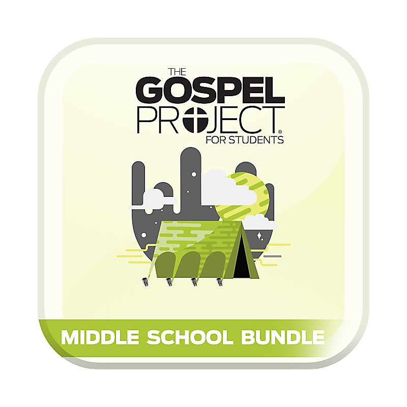 The Gospel Project for Students: Volume 3: Into the Promised Land Middle School Digital Bundle