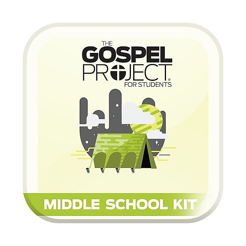 The Gospel Project for Students: Volume 3: Into the Promised Land Middle School Digital Kit