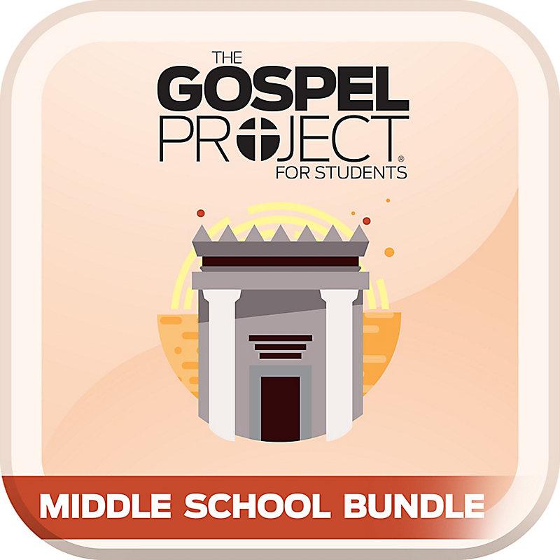 Gospel Project for Students: Volume 4: The Kingdom Provided Middle School Digital Bundle