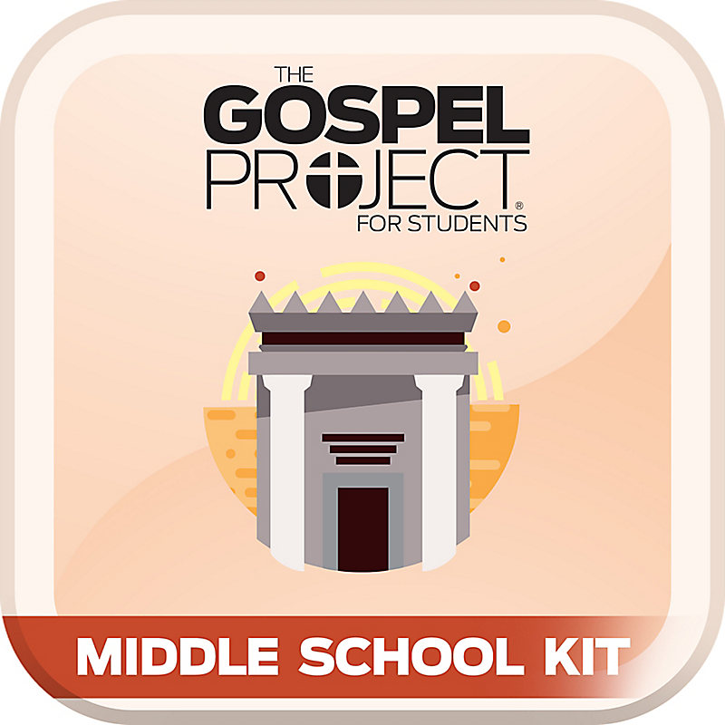 Gospel Project for Students: Volume 4: The Kingdom Provided Middle School Digital Kit