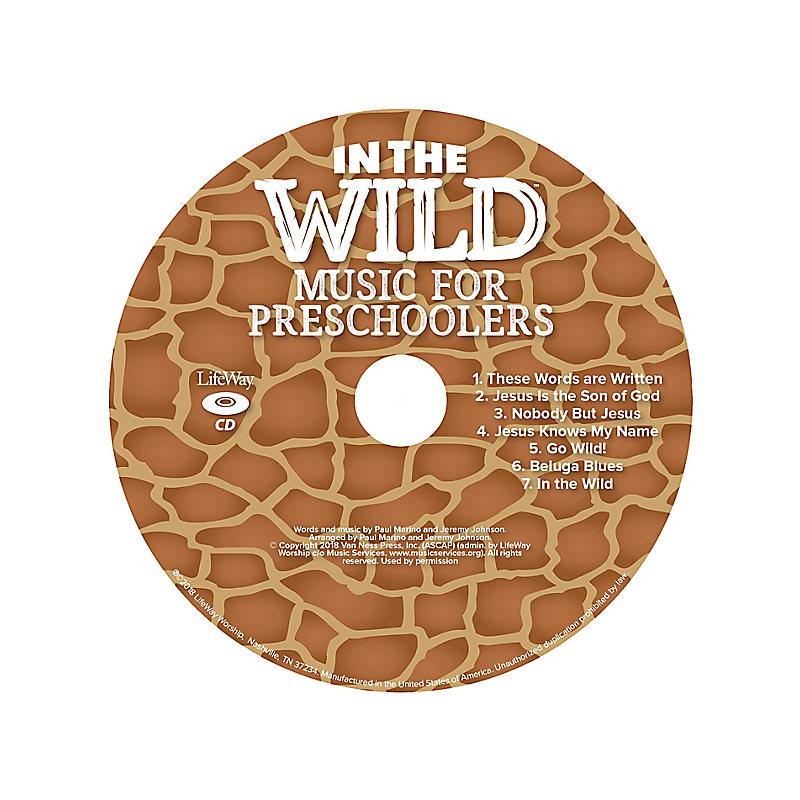 VBS 2019 Music for Preschoolers CD Pkg 5