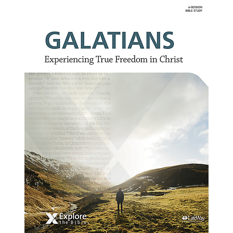 Explore the Bible: Galatians - Bible Study Book