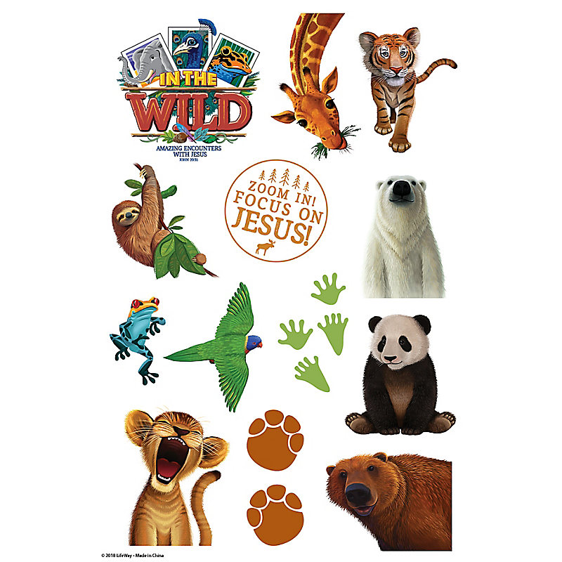 VBS 2019 Theme Stickers 10 Sheets