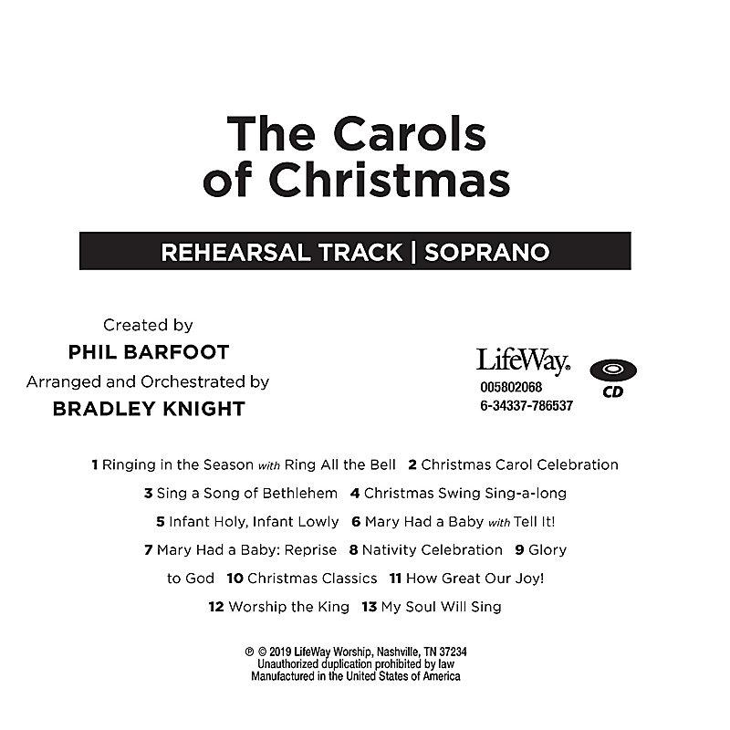 The Carols of Christmas - Soprano Rehearsal CD