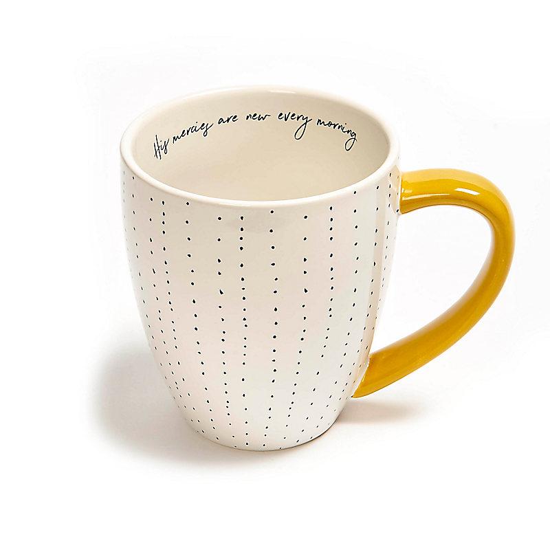 New Every Morning - Coffee Mug - Dots