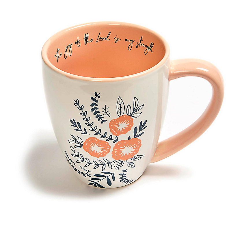 The Joy of the Lord - Coffee Mug - Floral