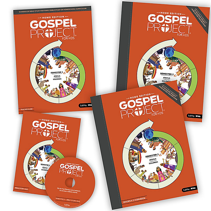 The Gospel Project: Home Edition Leader Kit Semester 2