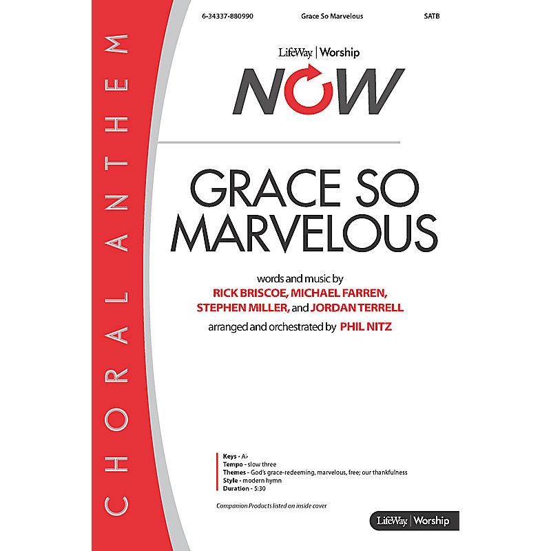 Grace So Marvelous - Downloadable Stem Tracks