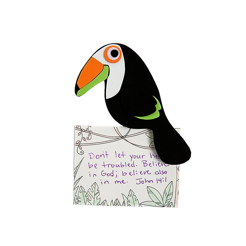 VBS 2019 Toucan Clip Craft Pack Pkg. 10