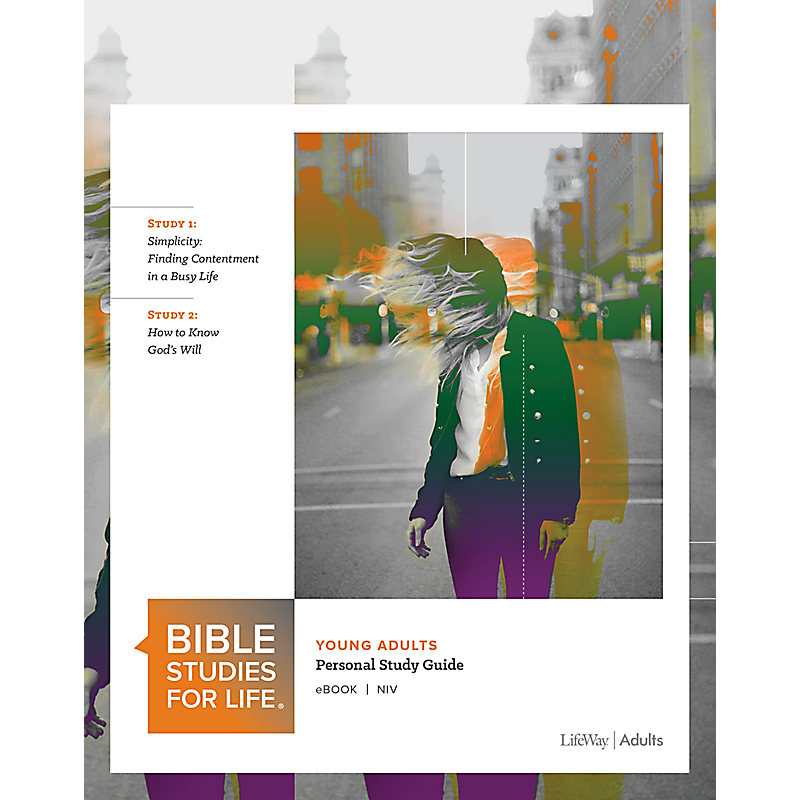 Bible Studies for Life: Young Adult Personal Study Guide - NIV - Fall 2019