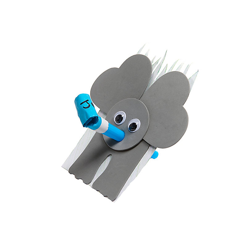 VBS 2019 Trumpeting Elephant Craft Pack Pkg. 10