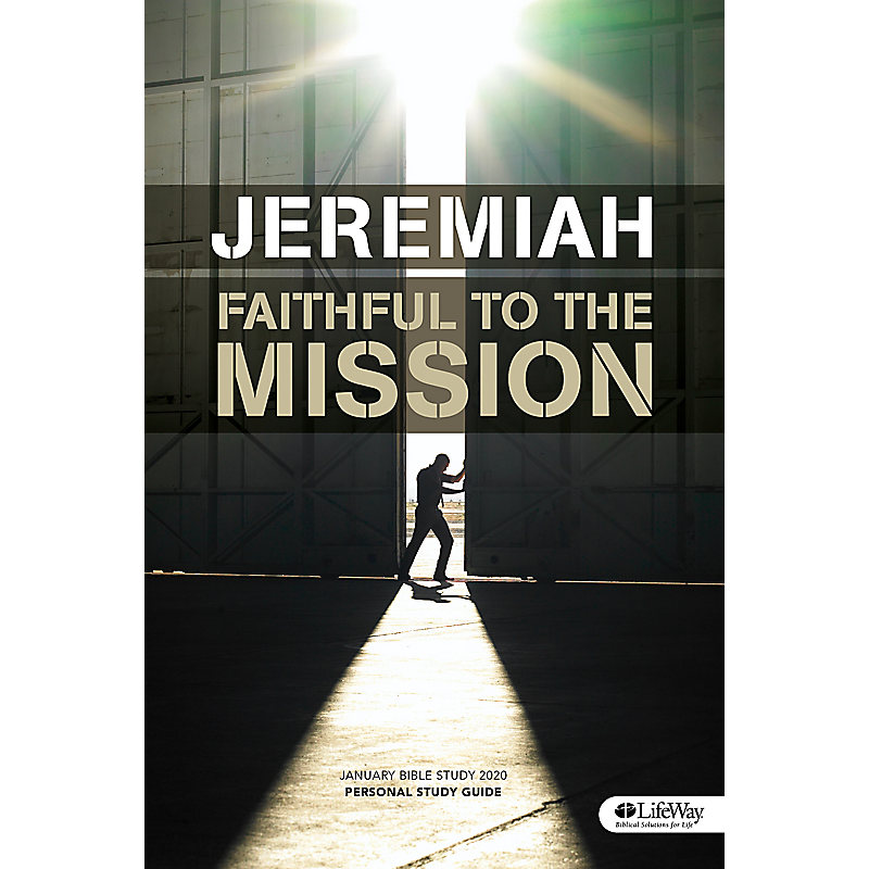 January Bible Study 2020: Jeremiah - Personal Study Guide